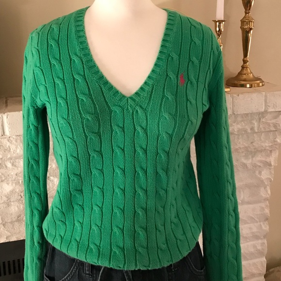 Polo By Ralph Lauren Sweaters Ladies Cable Knit Sweater Poshmark